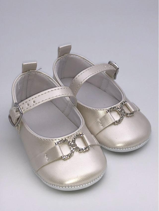Pantofi de botez pentru fetite BF-001