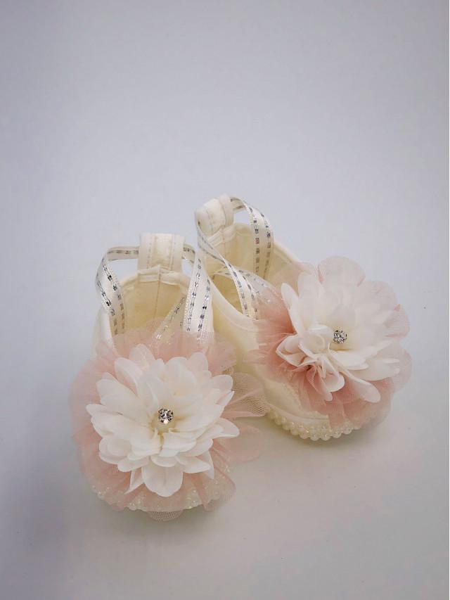Pantofi de botez pentru fetite BF-008